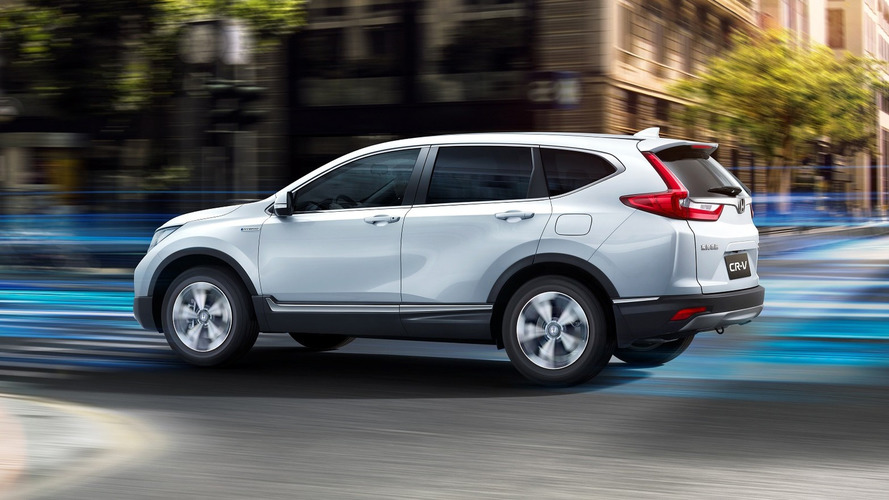 Honda CR-V Hybrid Goes Green In Shanghai