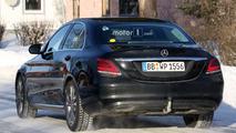 2018 Mercedes C Sınıfı Casus Fotoğrafları