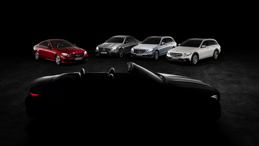 2018 Mercedes E-Class Cabriolet teasers