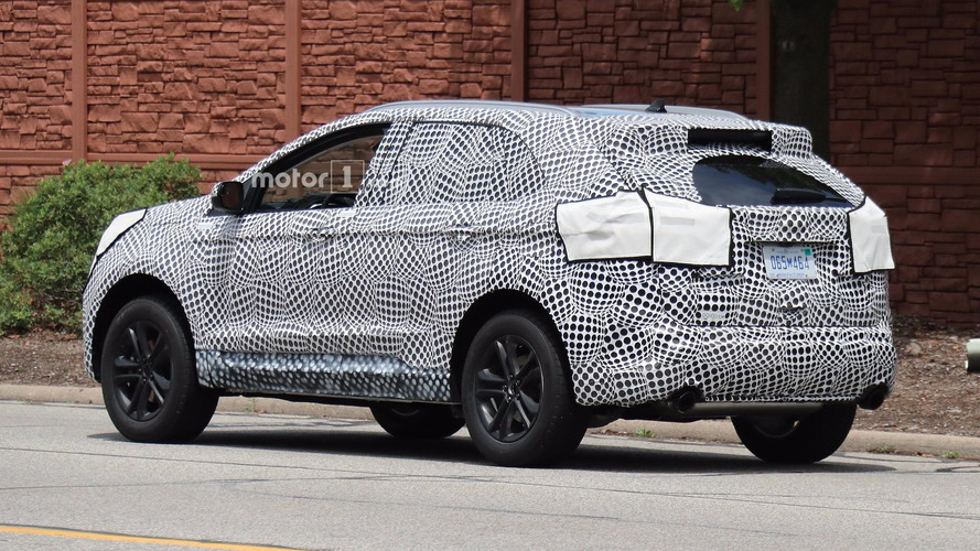 2019 Ford Edge Spied Testing on new ford engines