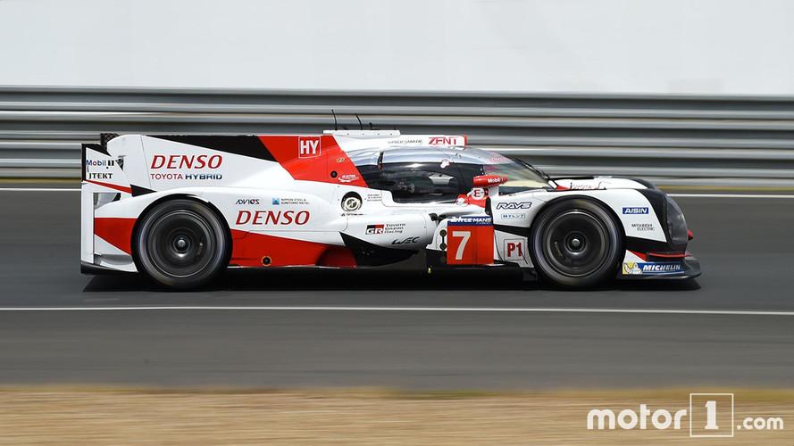 24 Heures du Mans - Toyota domine la Journée Test