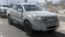 2019 Ford Ranger Pickup Spy Photos