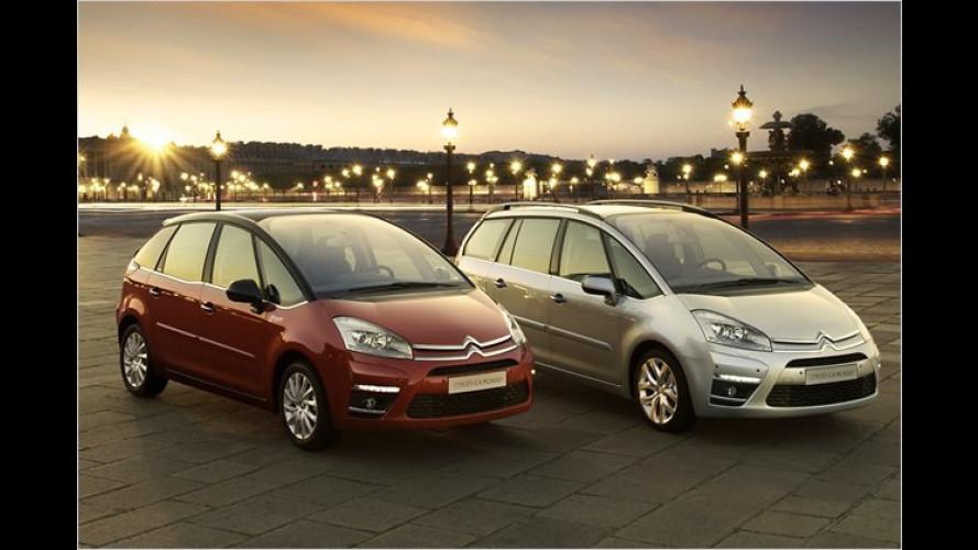 Citroën C4 Picasso: Optisch überarbeitet und mit Start-Stopp