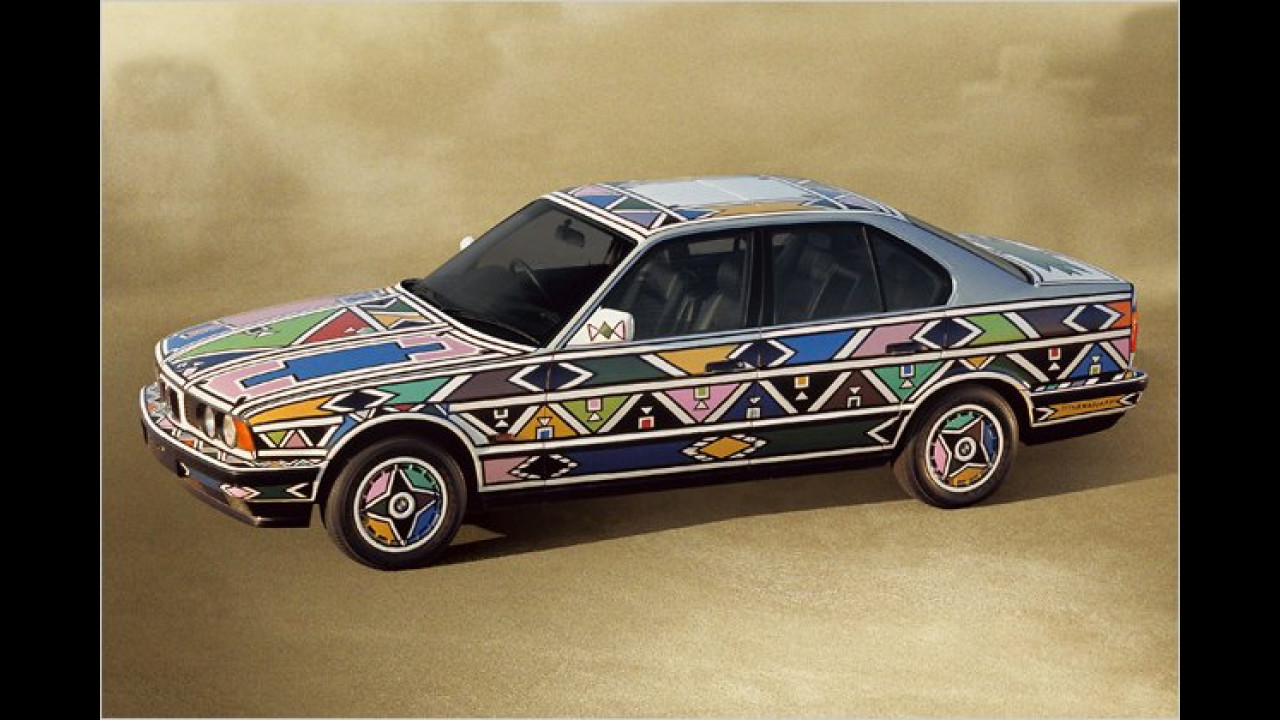 BMW 525i: Esther Mahlangu (1991)
