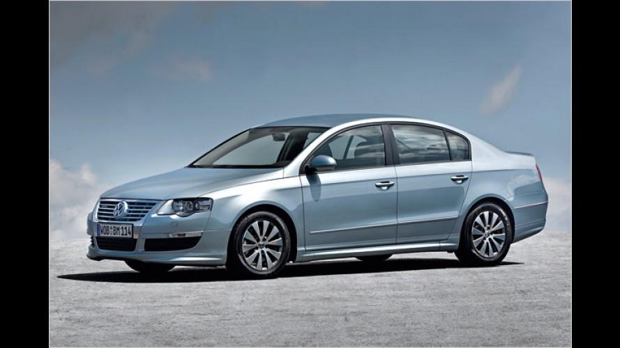 Downsizing auch in der Mittelklasse: VW Passat mit 1.6 TDI