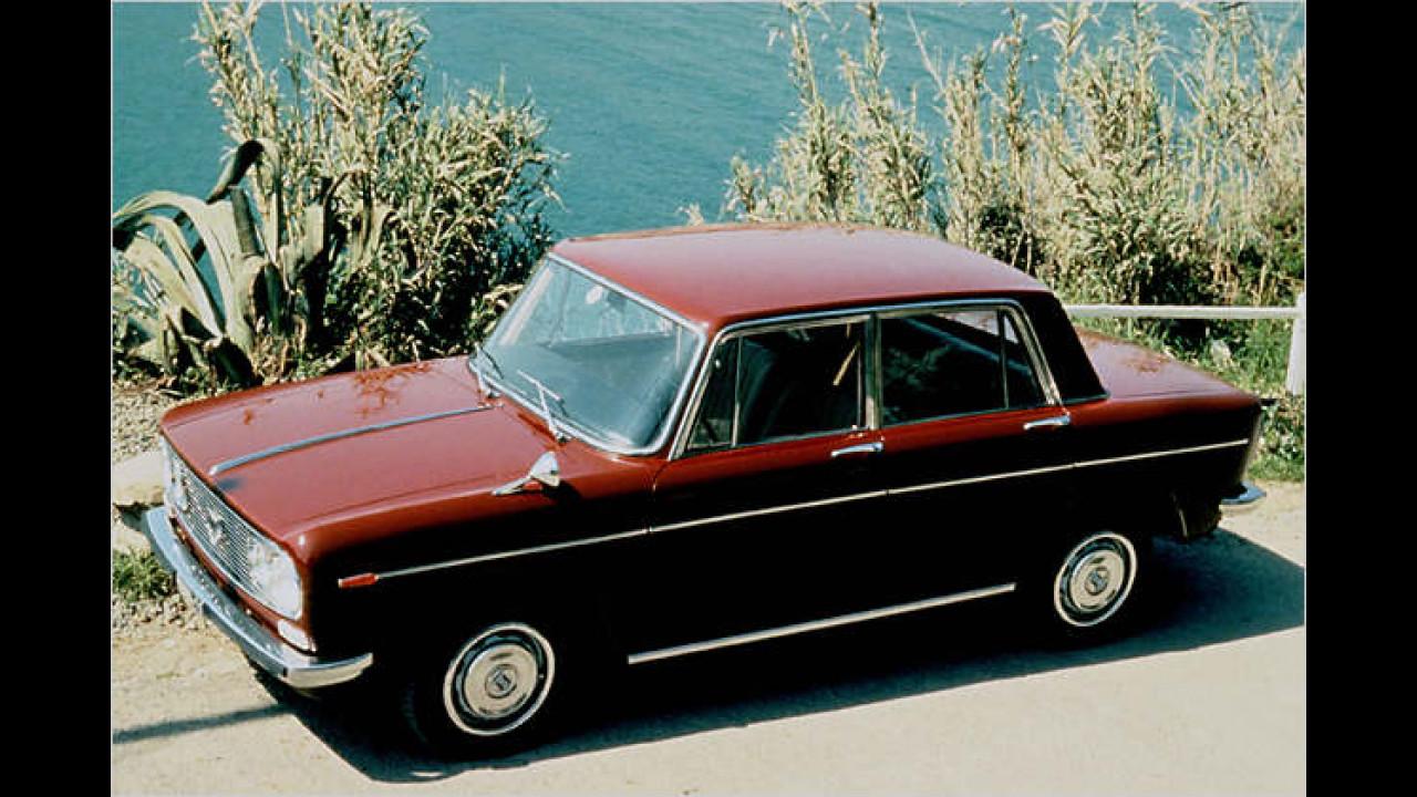 Was Feines aus Italien: Der Lancia Fulvia war 1964 in der Schweiz zu Gast