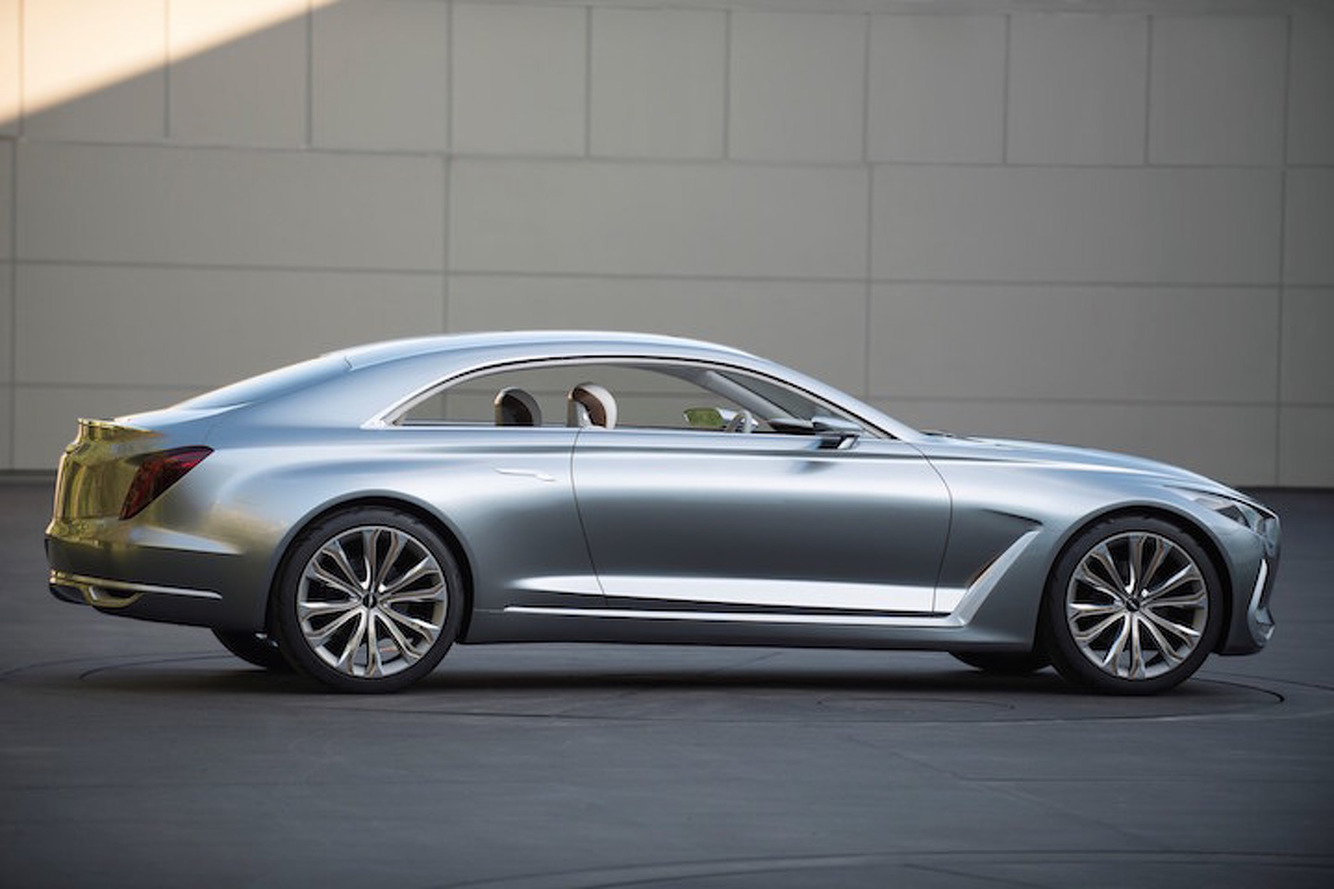 Hyundai Vision G Concept Previews a Pretty Future for the Genesis
