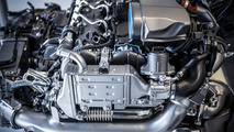 Mercedes four-cylinder diesel engine