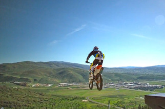 Motorcyclist Makes World Record Leap from Unlikely Place
