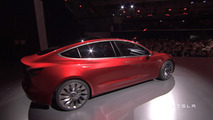 Tesla Model 3 unveiling