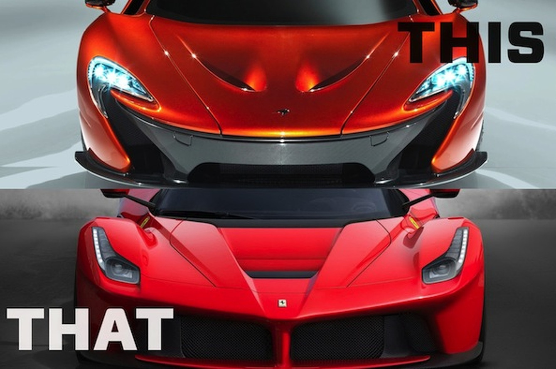 This or That: Ferrari LaFerrari or McLaren P1?