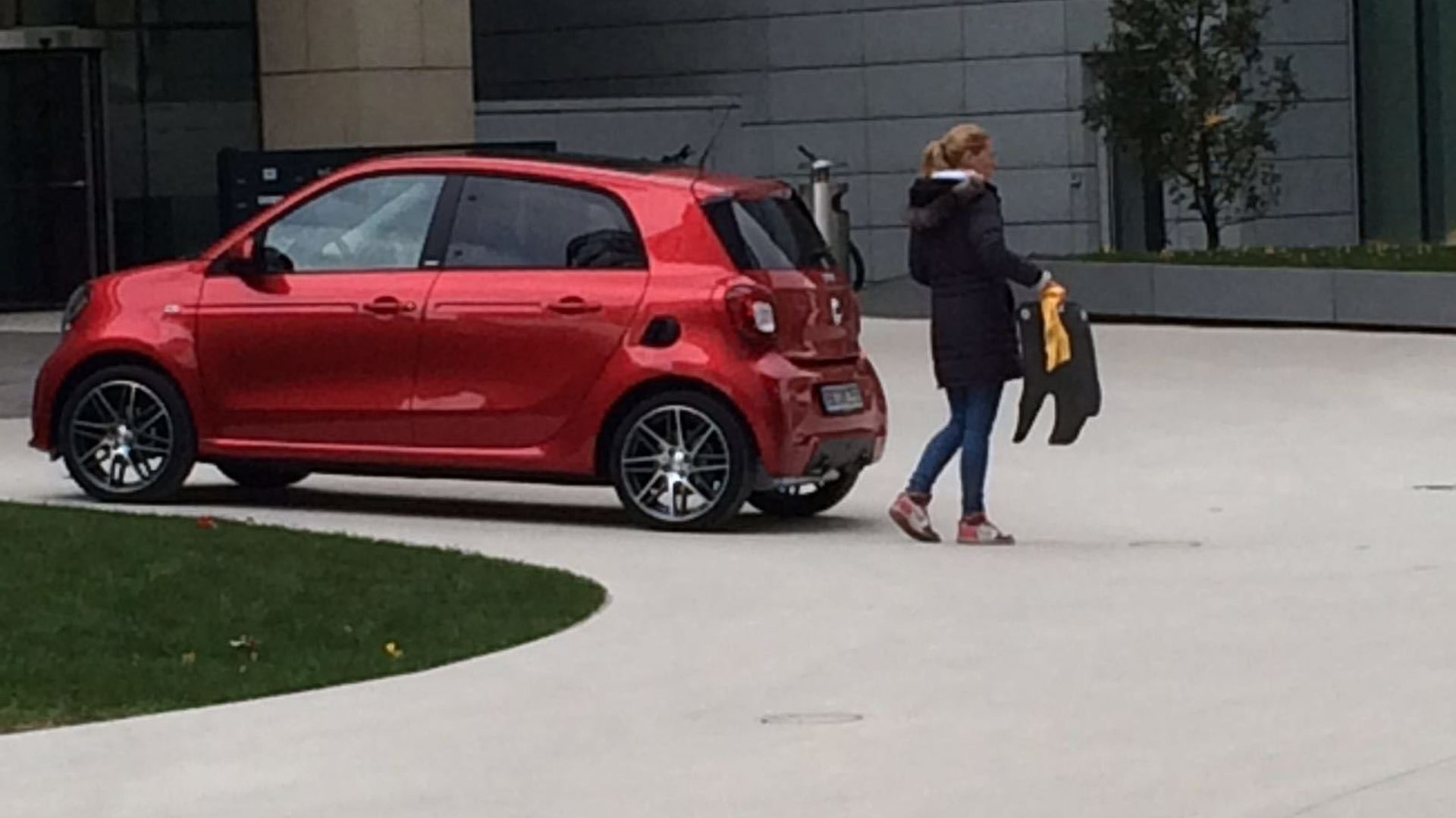 Populaire Smart ForTwo, ForFour Brabus spotted undisguised OL52