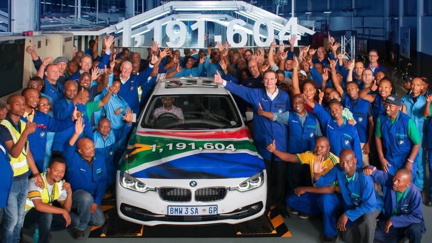 BMW stoppe la production de la Série 3... en Afrique du Sud