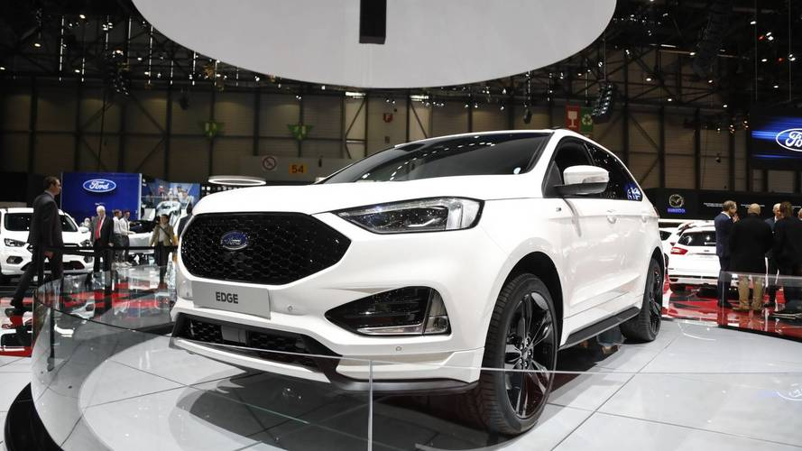 Ford Edge ST Line Live From Geneva Motor Show