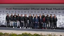 Real Madrid oyuncuları yıllık Audi'lerine kavuştu