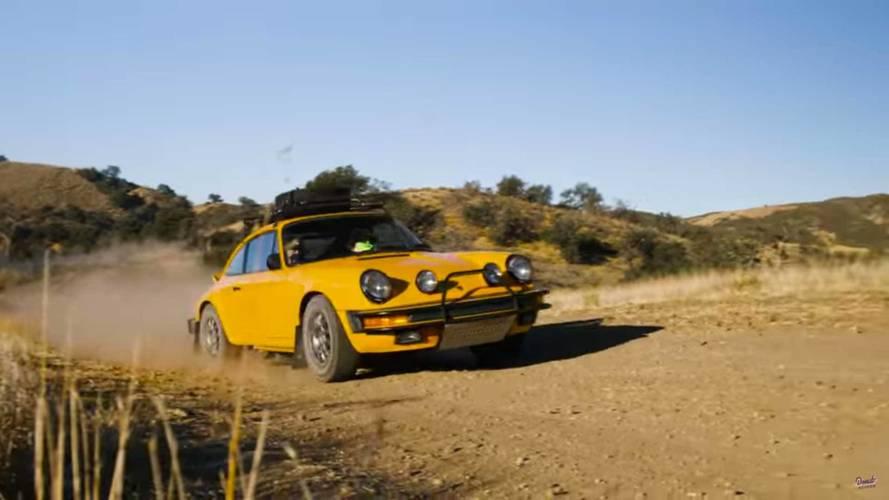 Rally-Spec Porsche 911 Doesn't Mind Getting A Little Bit Dirty