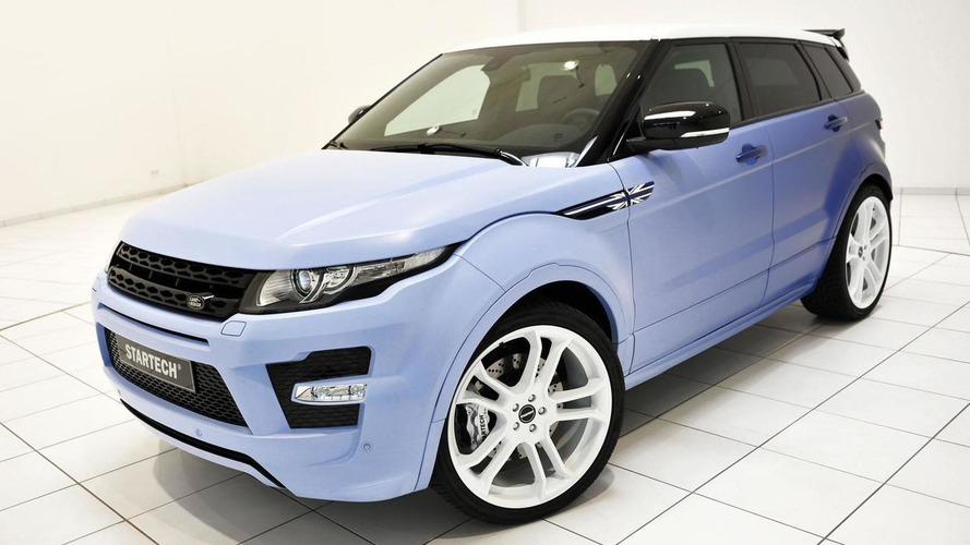 Startech Range Rover Evoque LPG headed to Frankfurt