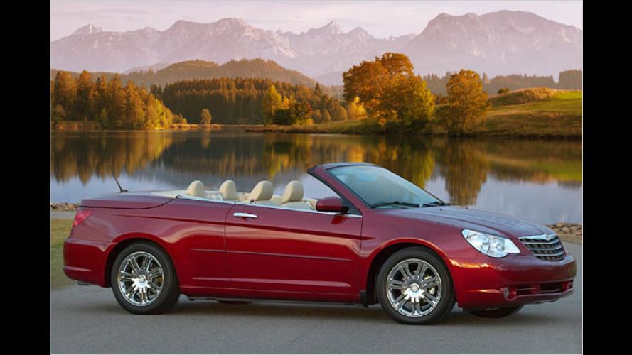 Sebring Cabrio: Premiere des überarbeiteten Viersitzers
