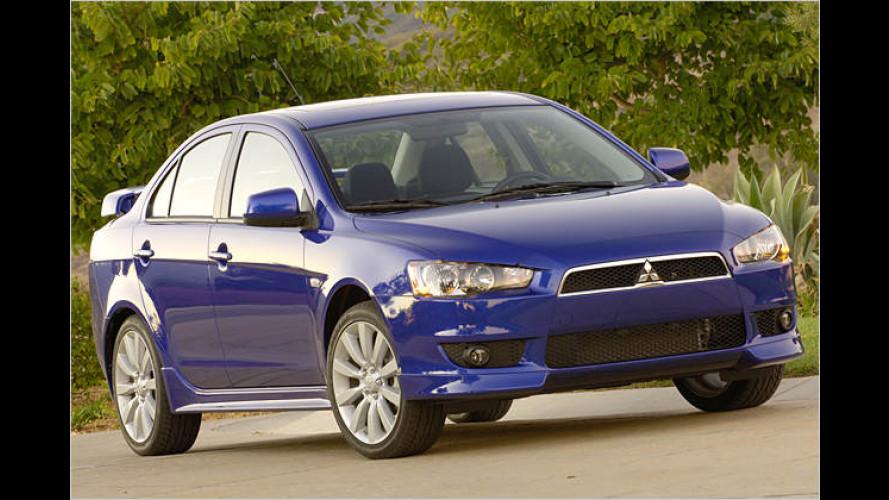 Neuer Mitsubishi Lancer: Debüt auf der Detroit Auto Show