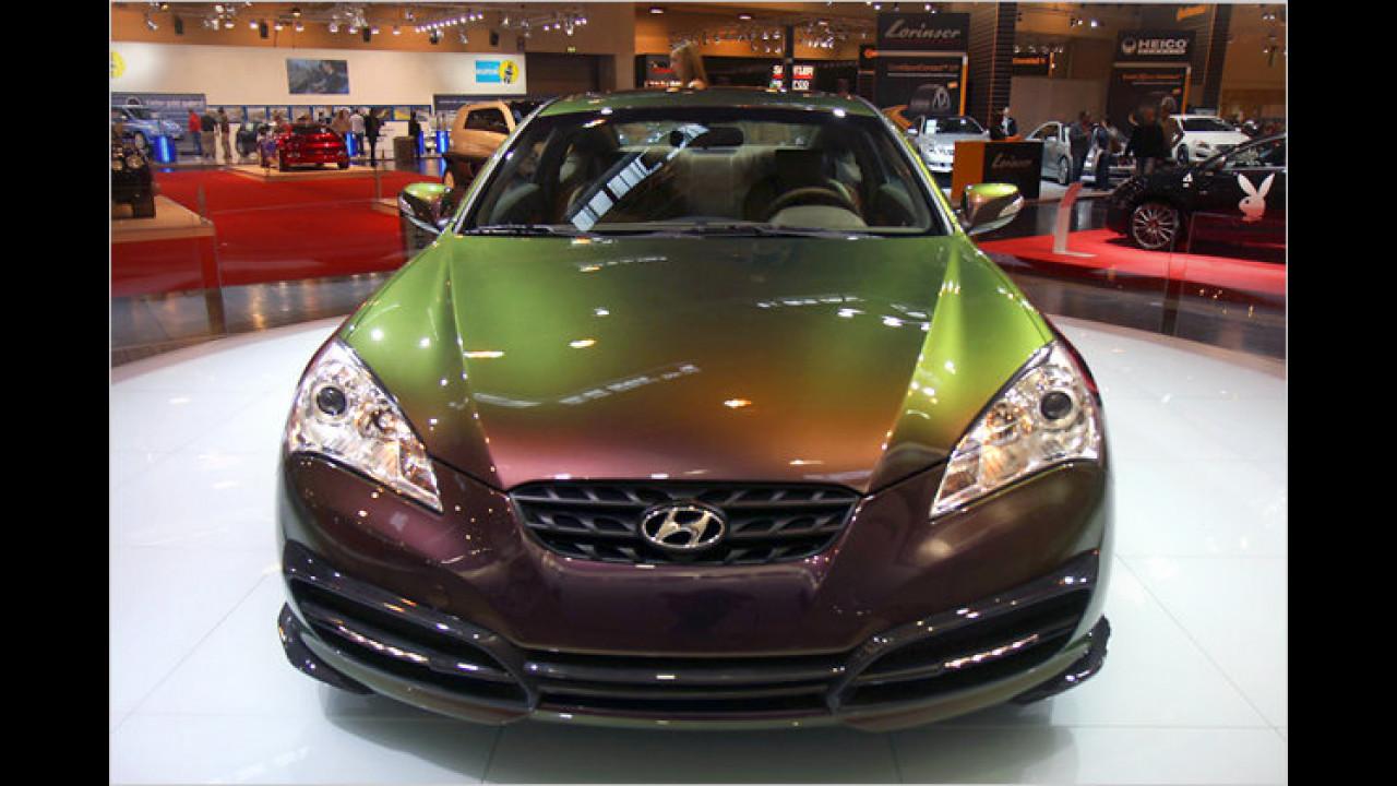 Hyundai Genesis Coupé made by Mansory