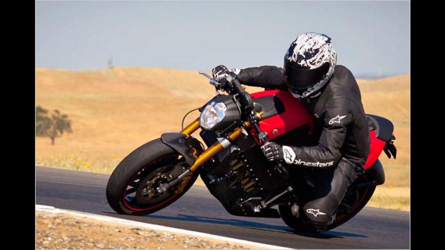 Neues Elektro-Motorrad aus Oregon: 160 km/h ohne Abgas