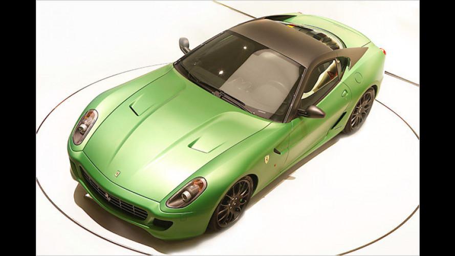 Genf 2010: Ferrari wird grün