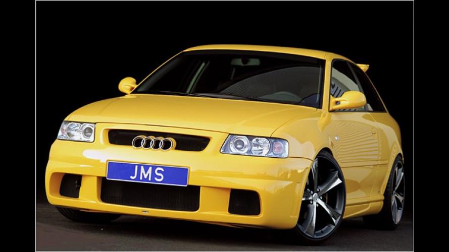 Audi-Veredler JMS verleiht A3 ein neues Optikpaket