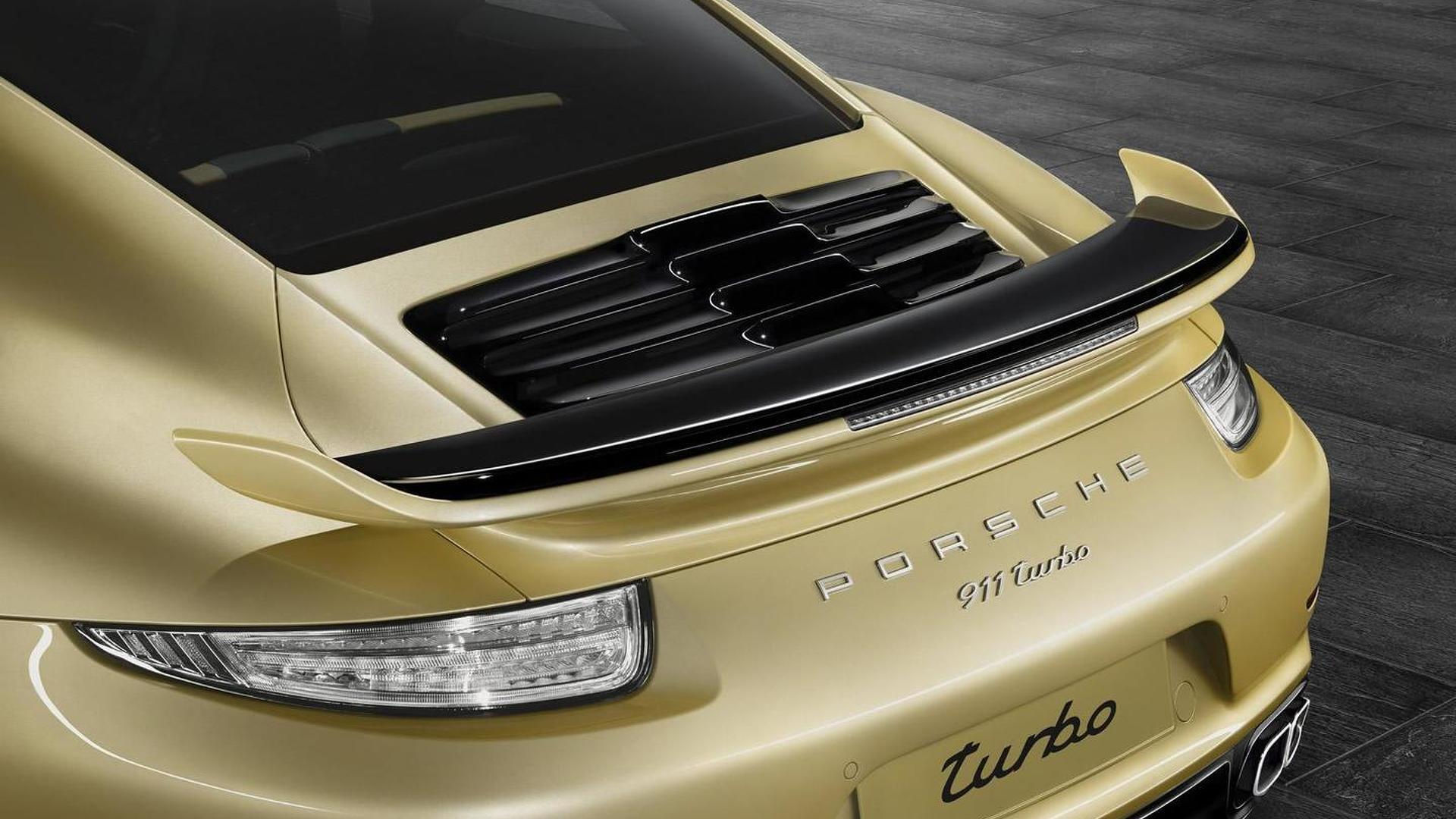 Уникальная Porsche 911 Turbo от Porsche Exclusive