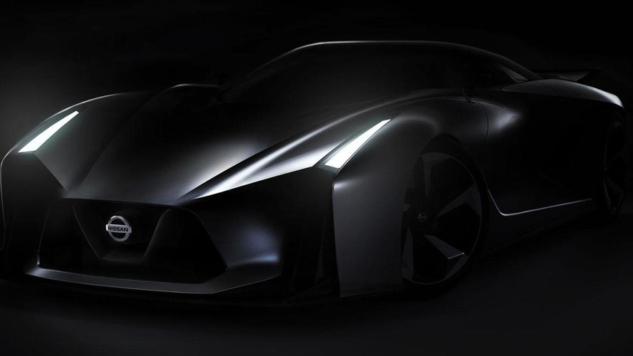 Nissan concept 2020 Vision Gran Turismo revealed, hints at the supercar of the future [video]