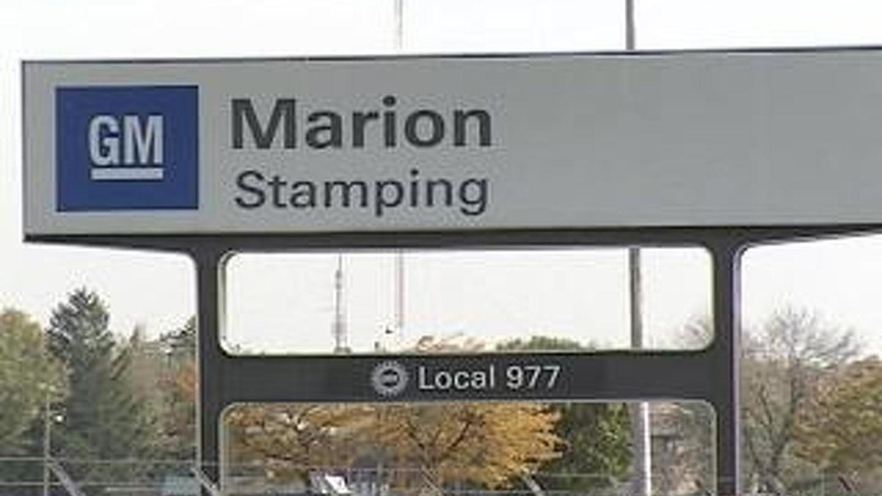 GM Marion stamping plant
