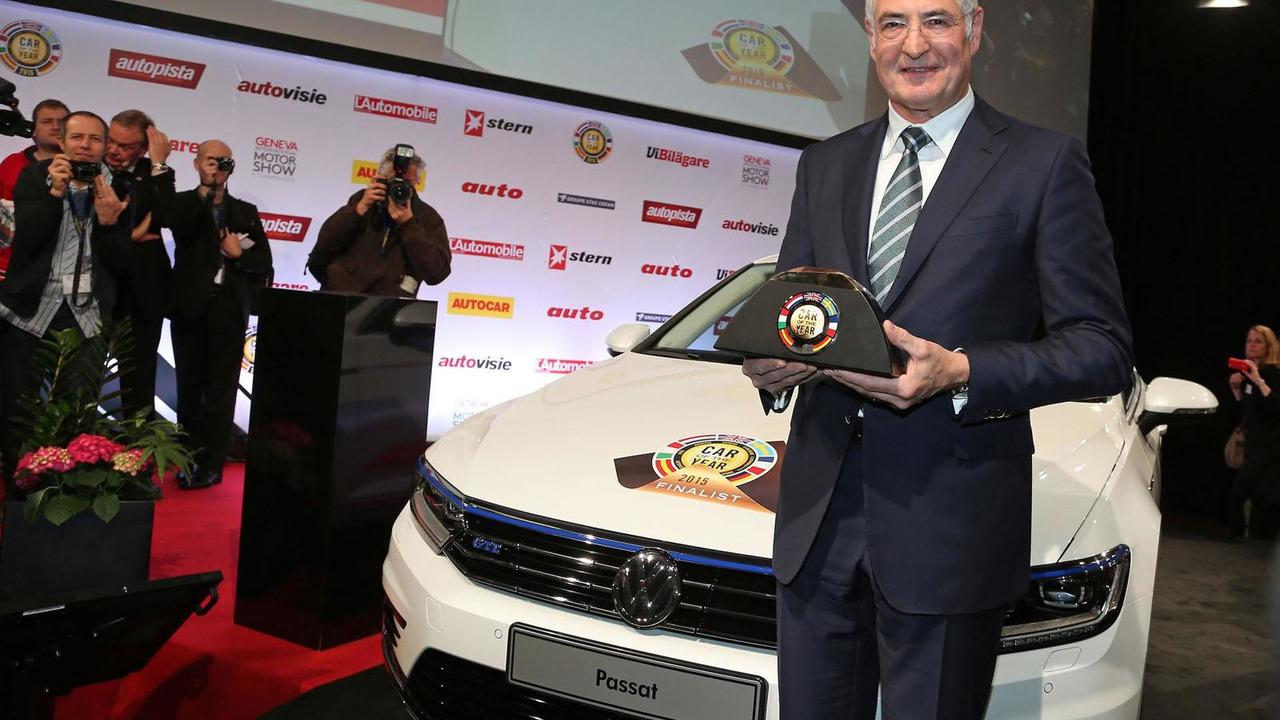 Volkswagen Passat named European Car of the Year