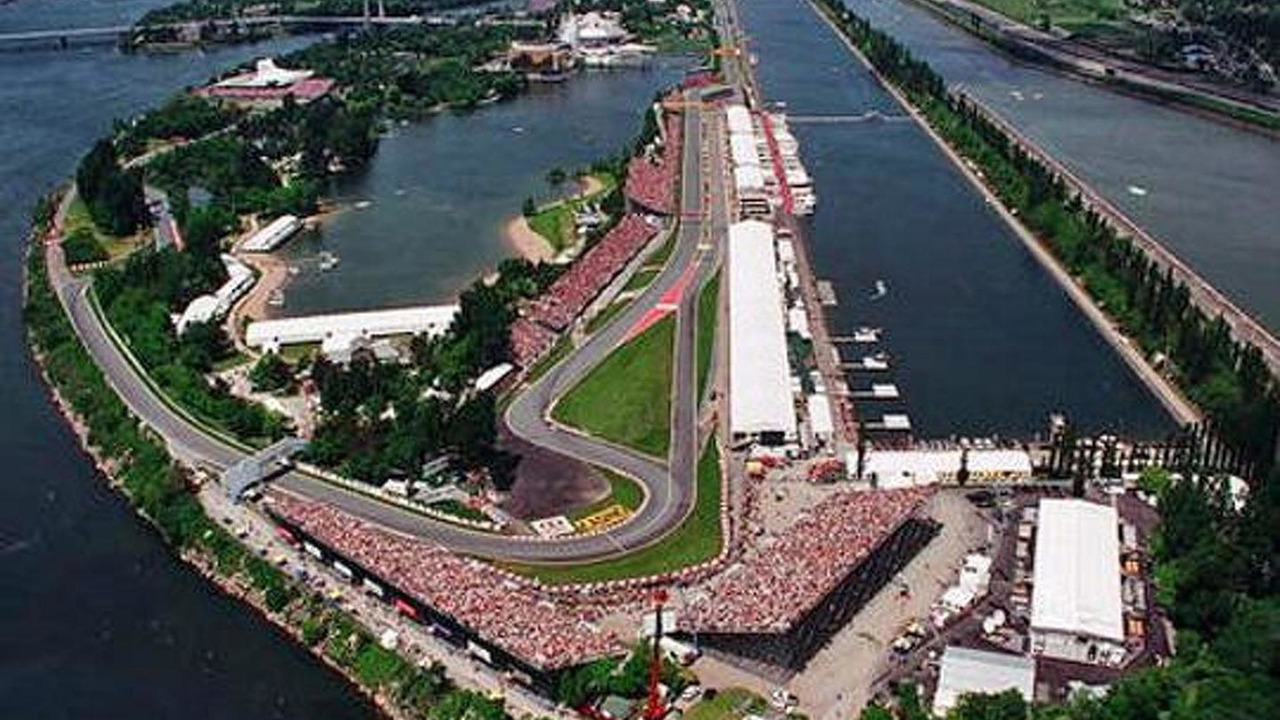 Circuit Gilles Villeneuve in Canada / Colorlibrary