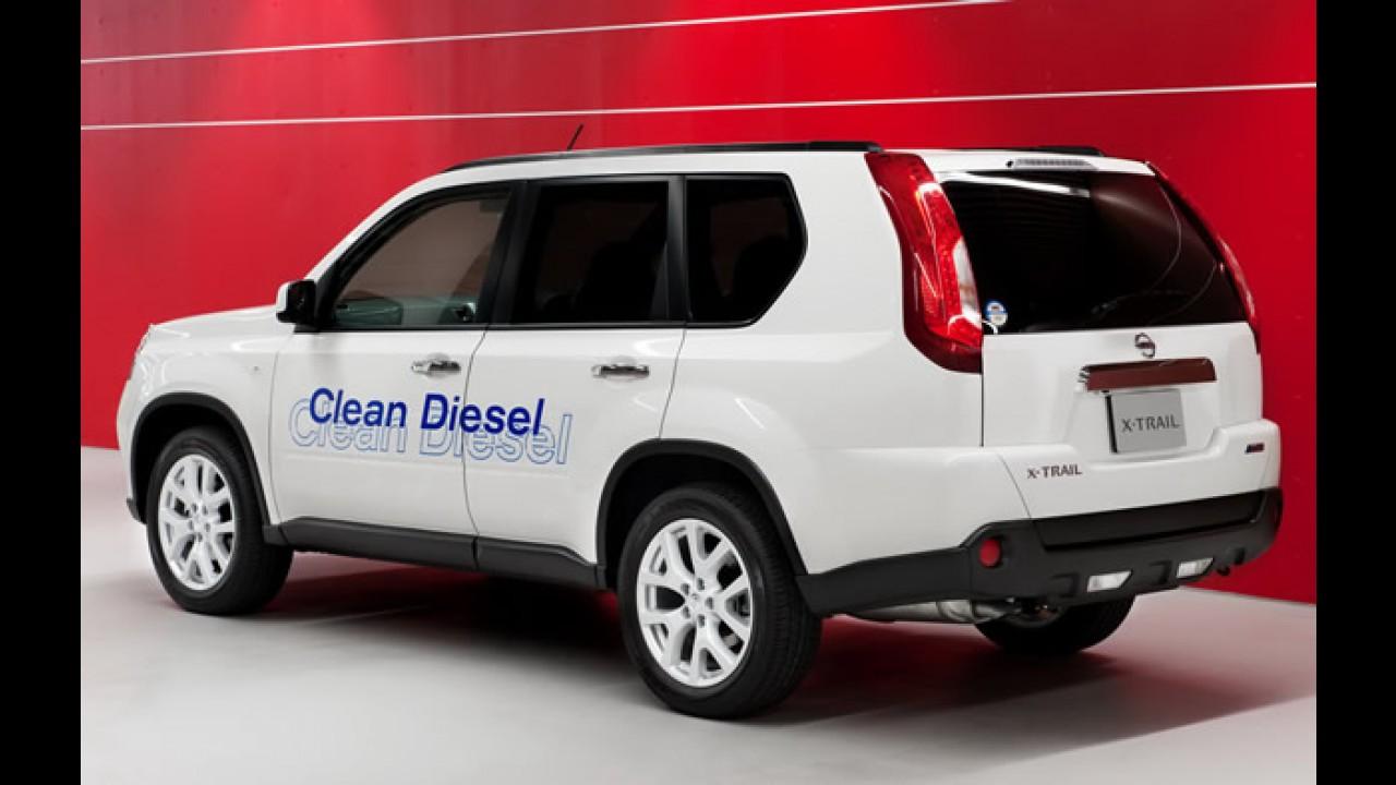 Nissan X-Trail 2011 - Novidades visuais e mecânicas - Veja fotos