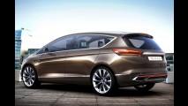 Ford S-Max Concept antecipa nova geração da minivan em Frankfurt