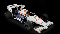 Toleman TG184-2 Formula One car driven by Ayrton Senna 21.3.2012