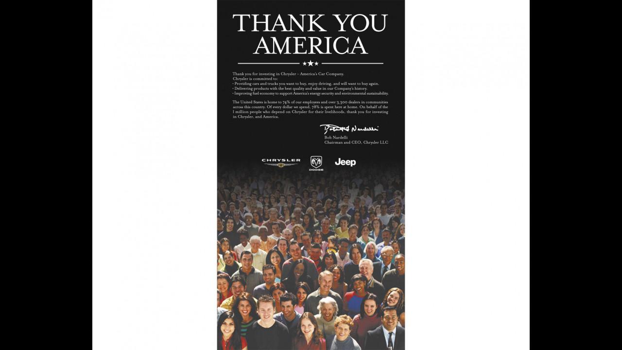 Thanks You America