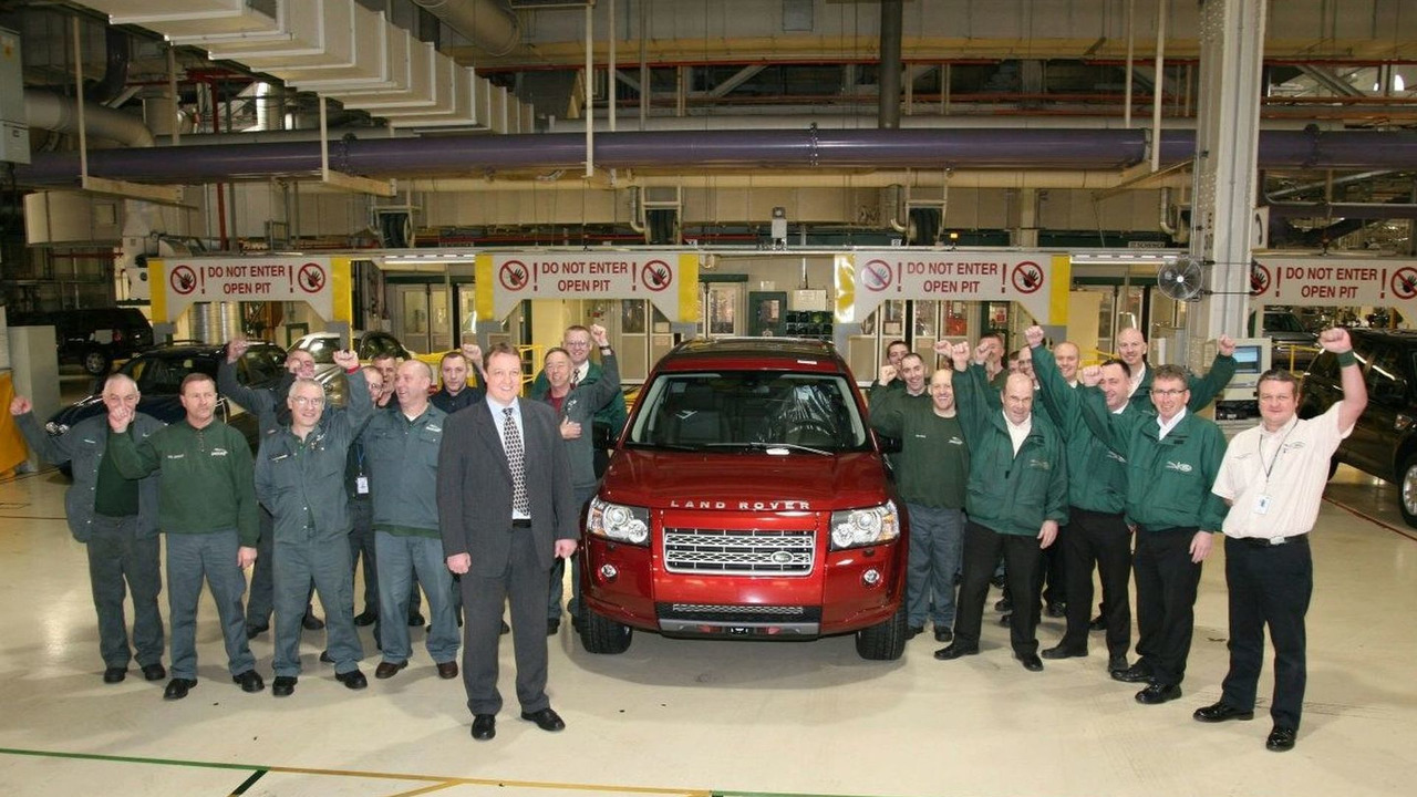 Land Rover Freelander 2 Reaches 100.000 Milestone