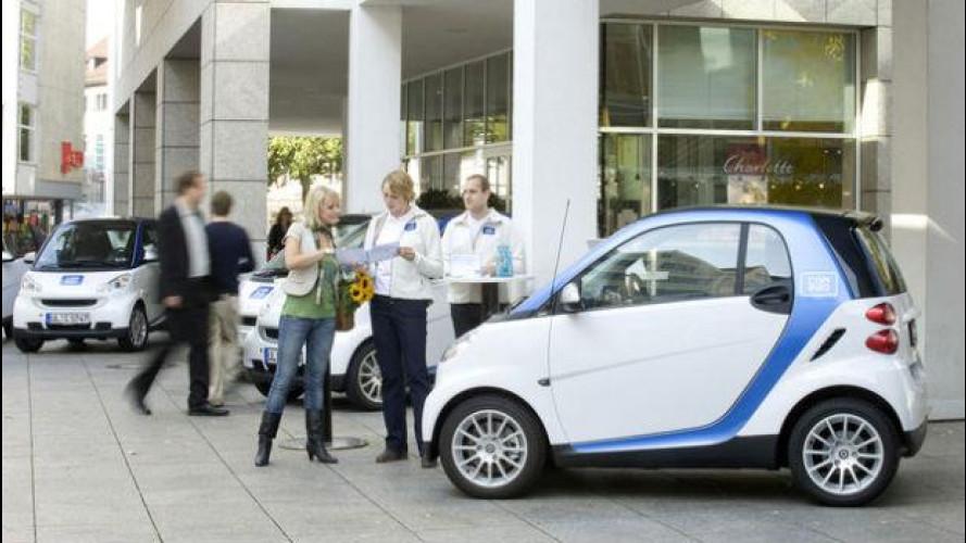 Con car2go è boom di noleggio smart nel mondo
