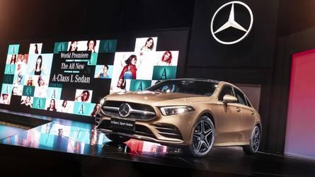 Mercedes A-Class Sedan Long Wheelbase Live From Beijing