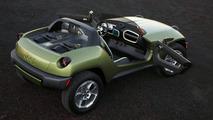 Jeep Renegade Concept Crashes the Detroit Party