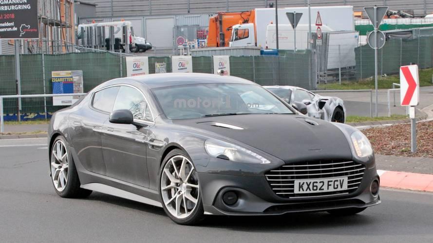 Aston Martin Rapide AMR Nürburgring'de yakalandı