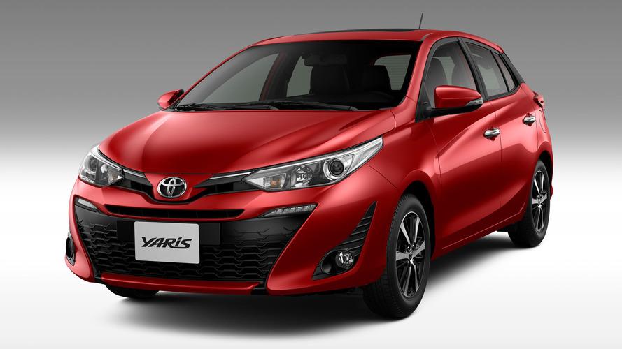 Toyota Yaris nacional: vazam versões e preços de toda a gama
