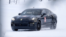 Possible 2019 Porsche Mission E spy photo