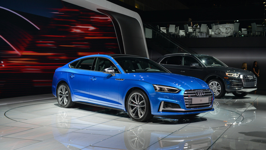 2018 Audi S5 Sportback debuts in L.A. ahead of U.S. launch