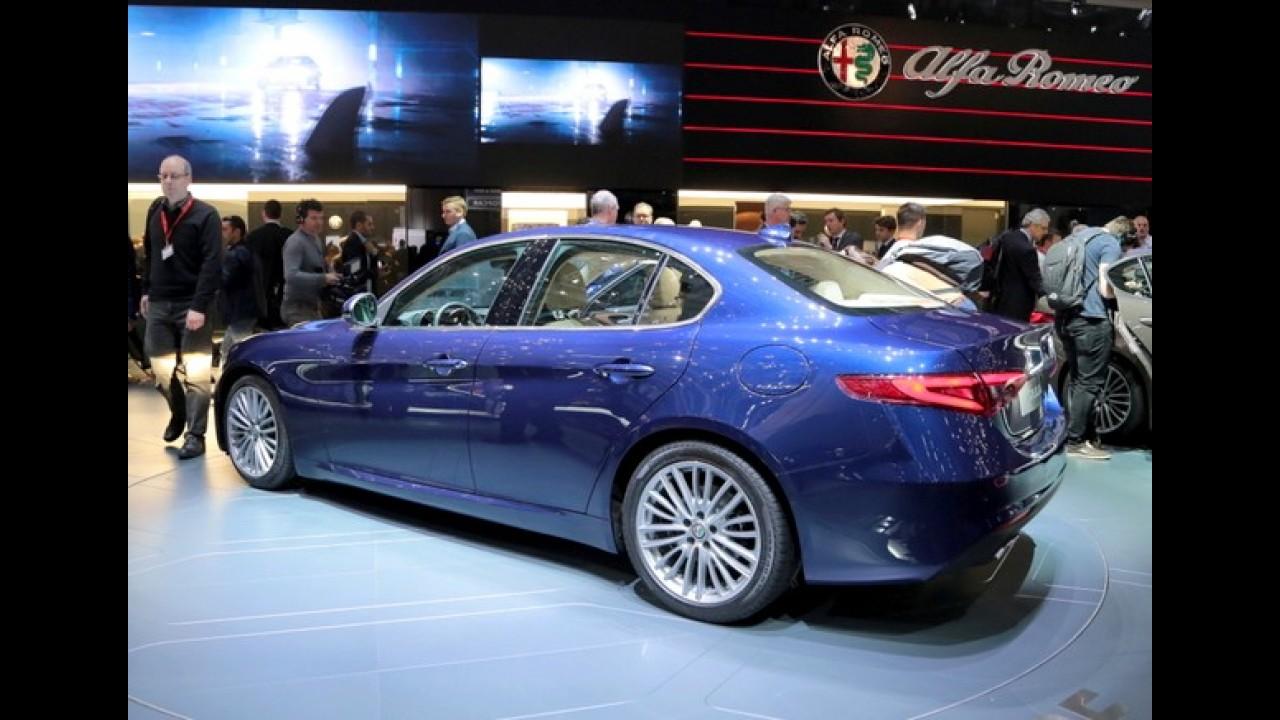 """Este é o Alfa Romeo Giulia """"civil"""", pronto para enfrentar Série 3 e Classe C - veja fotos"""