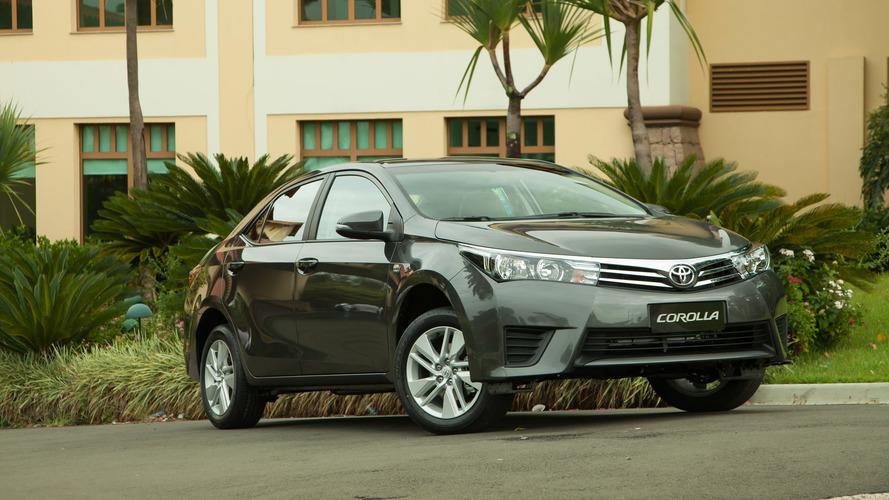 Toyota Corolla sofre novo reajuste de preços - veja tabela