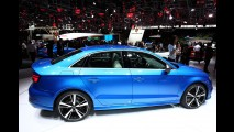 Paris: Audi RS3 Sedan estreia com visual bravo e 400 cv de potência