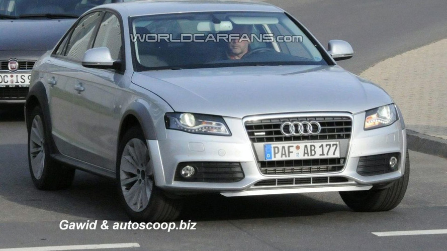 Audi A4 AllRoad Spied Ahead of Expected Unveiling in Paris