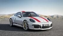 Porsche 911-R blanco