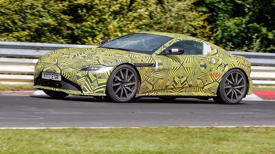VIDÉO - L'Aston Martin Vantage en action avec son V8 Mercedes-AMG